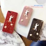 เคส iPhone 7 (4.7 นิ้ว) พลาสติกกากเพชร แมวน้อยลายสามสีน่ารักมากๆ ราคาถูก
