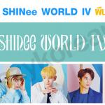 [พร้อมส่ง] ผ้าเชียร์ SHINee WORLD IV (สองด้าน)
