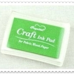 Crystal Craft Ink Pad (สีเขียวอ่อน)