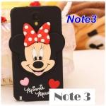 เคสซัมซุงโน๊ต3 Case Samsung Galaxy note 3 มินนี่เม้าส์ ซิลิโคน3D น่ารักๆ Minnie mouse Silicone 3D เคสมือถือราคาถูกขายปลีกขายส่ง