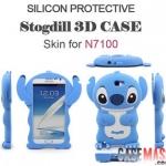 เคส Note 2 Case Samsung Galaxy Note 2 II N7100 เคสสติทช์ 3D ซิลิโคนสวยๆ เด่นๆ น่ารักสุดๆ Stitch 3D Silicone