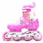 รองเท้าสเก็ต rollerblade รุ่น MCO สีชมพู-ขาว Size S *พร้อมเซทป้องกันสุดคุ้ม