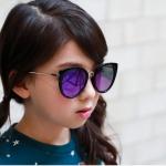 แว่นตา (UV400) เลนส์สีน้ำเงิน แพ็ค 5อัน ฟรีไซส์