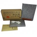 แบตเตอรี่สำรอง Eloop E14 ของแท้ 20000 mAh สำหรับโทรศัพท์ทุกรุ่น
