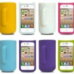 case iphone 5 เคสซิลิโคน 3D ทรงแก้วน้ำ เหยือก ใบใหญ่ สีหวานๆ สวยๆ น่ารัก