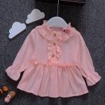 เสื้อ สีชมพู แพ็ค 4ชุด ไซส์ S-M-L-XL