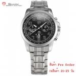 นาฬิกาข้อมือชายแฟชั่น Shank Sport watch SH182-SH183