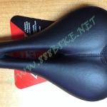 เบาะจักรยานมีเจล ENDZONE หนานุ่ม สบาย ขนาด 280x210 mm. มีร่องกลาง (สีดำ)