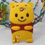 Case Samsung Galaxy Note 2 เคสซิลิโคน 3D หมีพูห์ Winnie The Pooh Silicone 3D เคสมือถือราคาถูกขายปลีกขายส่ง