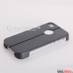 case iphone 4 เคสไอโฟน4s เคสแนวสปอร์ตตัดของดำ เคสพับกางเป็นขาตั้งได้ เคสมือถือราคาถูกขายปลีกขายส่ง