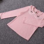 เสื้อ สีชมพู รูปขนตา P5060 แพ็ค 5ชุด ไซส์ 7-9-11-13-15
