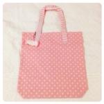 [หมดค่ะ] Pastel Pink bag กระเป๋าหิ้วสีเขียวพาสเทล งานน่ารักๆ