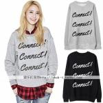 เสื้อแขนยาวกันหนาว Connect แบบ Yoona