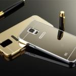 เคส Samsung Note 4 รุ่น Aluminium Hybrid Mirror Back (เคสฝาหลังเงา)