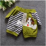 กางเกง สีเขียว แพ็ค 4ชุด ไซส์ S-M-L-XL