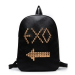 กระเป๋าสะพายหลัง EXO LOGO 2014 สีดำ ทอง