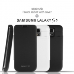 Battery Case for Galaxy S5 4800 mAh