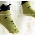ถุงเท้า สีเขียว แพ็ค 24 คู่ ไซส์ 2-4ปี