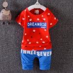 ชุดเซต Dream Big สีแดง [size 6m-1y-2y]