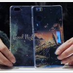 Case Huawei P8 Lite ซิลิโคน TPU เงางามลายสวยมากๆ ราคาถูก