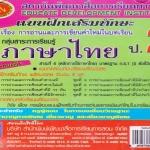 แบบฝึกหัดเสริมทักษะหลักภาษาไทย ป.2