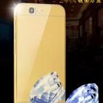 เคส Huawei G7 ขอบเคสโลหะ Bumper + พร้อมแผ่นฝาหลังเงางามสวยจับตา ราคาถูก