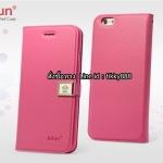 เคสฝาพับ iPhone 6/6s แบรนด์ Ailun สีชมพูเข้ม
