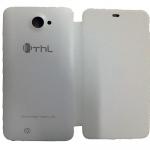 Original White Protective Flip Case Cover for ThL W200 Smartphone