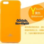 เคส iPhone 6/6s แบรนด์ Goospery (Mercury Jelly Case) สีเหลือง