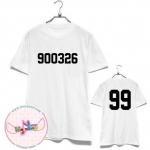 [FANMADE]เสื้อวันเกิด EXO-K Football T-shirt (สีขาว) XIUMIN 900326 - 99