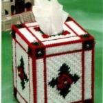แพทเทิร์นกล่องทิชชูลายคริสต์มาส