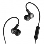 หูฟัง Fischer Audio Omega Twin หูฟังแบบ 2 Drivers เสียงฟังสนุก รายละเอียดครบถ้วนสมบูรณ์แบบ แบบคล้องหู มีไมค์ใช้กับ Smartphone