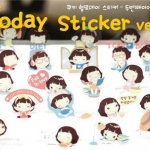 Cooky's Helloday Sticker Ver.2