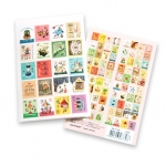 7321 Francoise Stamp Sticker
