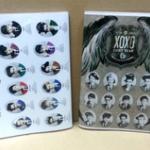 สมุด/ไอดารี่ EXO XOXO (ลายรวม)