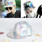หมวกสีเงินเมทัลลิค แบบ GD