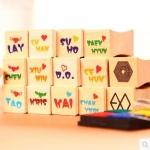 ชุดตราปั้ม EXO LOGO