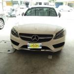 พรมปูพื้นรถเข้ารูป Benz C250 W205 coupe