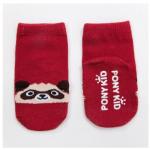 ถุงเท้า แลคคูนสีแดง แพ็ค 20 คู่ ไซส์ M (ประมาณ 1-3 ปี)