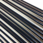 ซี่ลวดแอโร่ ขนาด 14/20/14, สีดำแสตนเลส, 276, 280, 283, สำหรับล้อ ALX320.