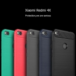 Fiber Cover caseแบบนิ่ม สำหรับ Redmi 4A