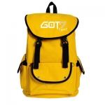กระเป๋าสะพายหลัง GOT7 LOGO สีเหลือง
