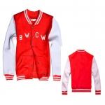 เสื้อเบสบอลEXO BWCW (สีแดง-ขาว)