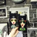 เคส OPPO N3 พลาสติก TPU แบบ soft case ลายผู้หญิงสวมแว่นเปรี้ยวแซ่บมาก ราคาถูก