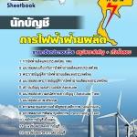 คู่มือเตรียมสอบนักบัญชี กฟผ.การไฟฟ้าผลิตแห่งประเทศไทย