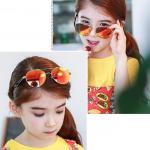 แว่นตา (UV400) เลนส์สีแดง แพ็ค 5อัน ฟรีไซส์
