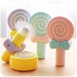 พัดลมมือถือ USB อมยิ้ม (Lollipop Fan)