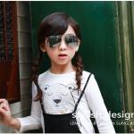 แว่นตา (UV400) เลนส์สีเทาเงิน แพ็ค 5อัน ฟรีไซส์