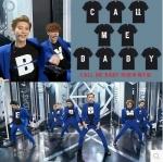 เสื้อยืดสีดำ EXODUS CALL ME BABY [ Y ]