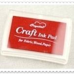 Crystal Craft Ink Pad (สีแดง)